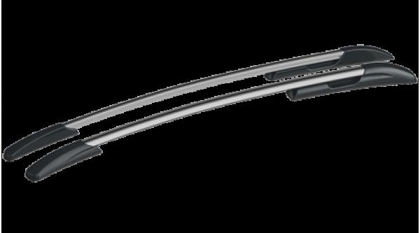 Ford Focus III хэтчбек Рейлинги АПС Серые матовые. Артикул 0235-11
